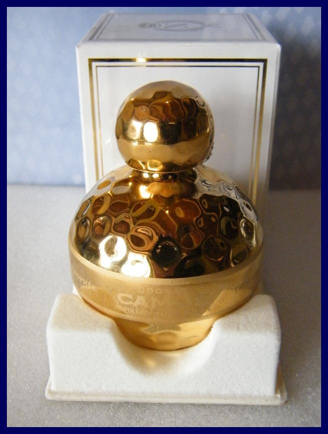 rare mini bouteille balle de golf porcelaine dor e cognac camus napol on 5cl ebay. Black Bedroom Furniture Sets. Home Design Ideas