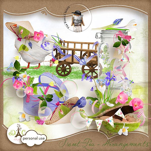 Véro - MAJ 02/03/17 - Spring has sprung ...  - $1 per pack  Vero_pvarrangementssp-33b2717